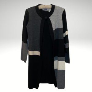 Prophecy by Sag Harbor Size M Color Block Sweater